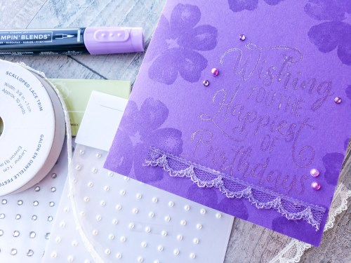 Use this trick to create embellishments in any color! Pearls, rhinestones, and dots will forever coordinate perfectly with your projects!