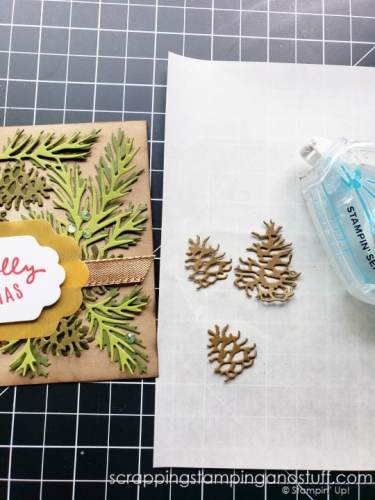 Did you know you can attach detailed die cuts with your tape runner?! Click here for this amazing die cutting hack!