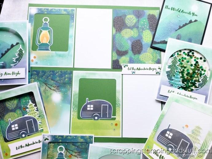 July 2021 Paper Pumpkin The Adventure Begins Card Kit And Alternative Ideas