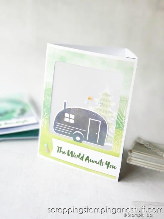 July 2021 Paper Pumpkin The Adventure Begins Card Kit And Alternative Ideas - Paper Lantern!