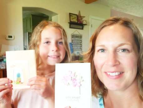 Watch along with this crafty collaborations video with my daughter and see how we each inspired each other to make a neat project!