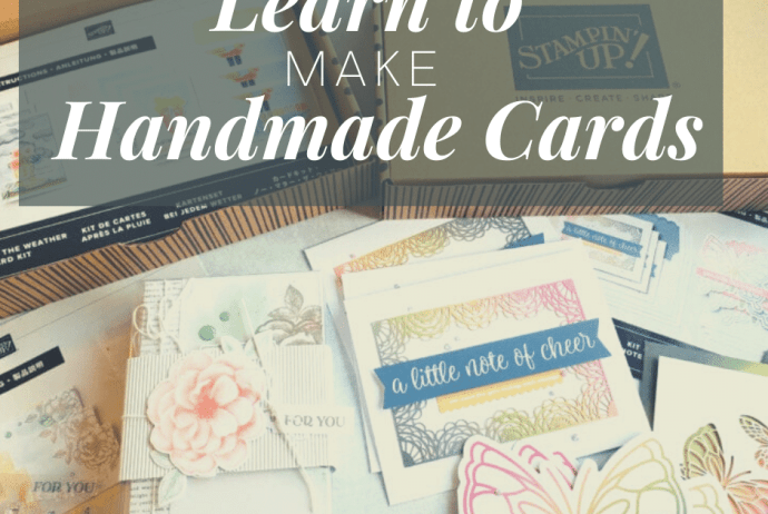 Cardmaking For Beginners - Learn to Make Handmade Cards