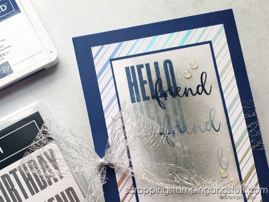 """Click for this quick and easy diy gift pouch tutorial that you can make quickly with just one piece of 8 1/2"""" x 11"""" paper!"""
