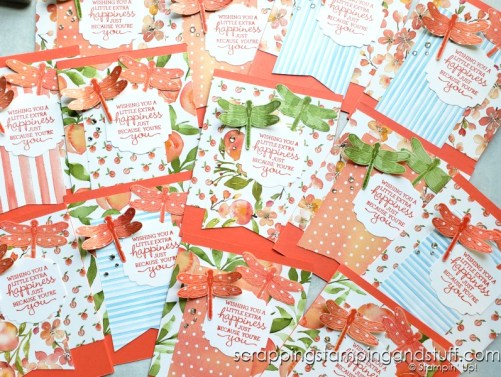 Click here for great tips for mass producing handmade cards and watch to see how to create 12 beautiful handmade cards in 30 minutes!