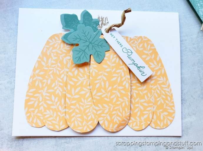 September 2021 Paper Pumpkin From Stampin Up - Haunts & Harvest - Card Kit In The Mail