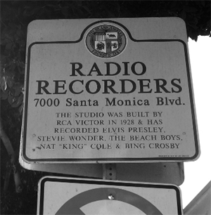 Radio Recorders sign