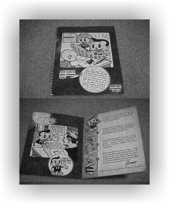 Scrappy promo book