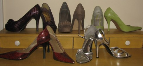 A Selection of my Higher Heels