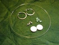 Green Goddess Earring Supplies