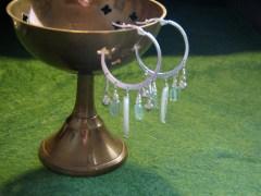 Green Goddess Earrings