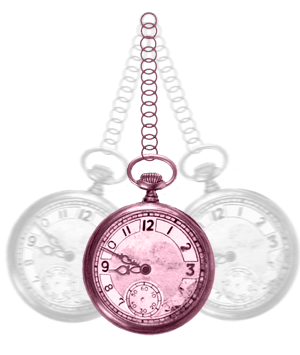Swinging pocket-watch