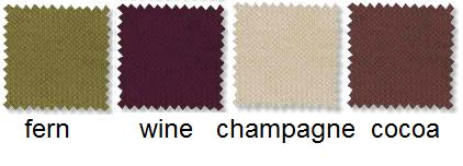 Wine-themed color palate