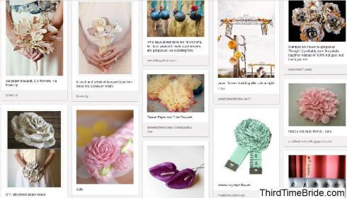 Screenshot of my Floral Alternatives Board