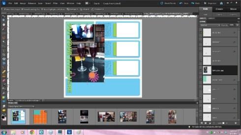 Step 3: Start placing your photos