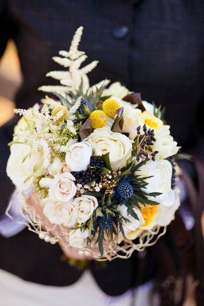 image via Wedding Wire | bouquet by Rachel A. Clingen Wedding and Event Design