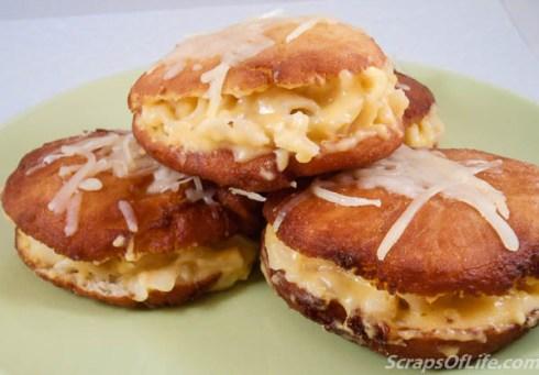 Mac & Cheese Doughnuts... because I could!