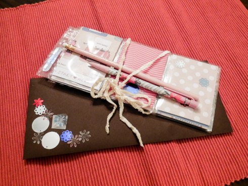 Pocket Letter & Decorated Envelope