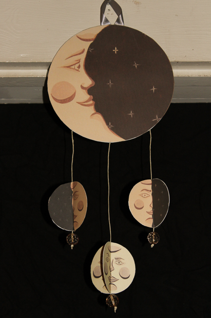 I still love these moon phase paintings.