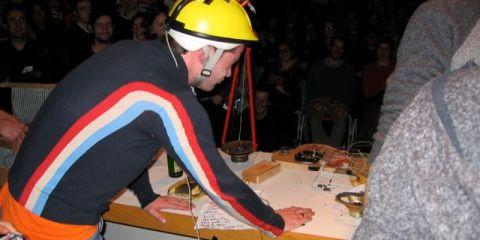 Transmediale, Berlin, Germany, Feb 2, 2004.