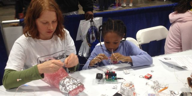 USA Science and Engineering Festival 2012, Washington Convention Center, Washington, D.C.
