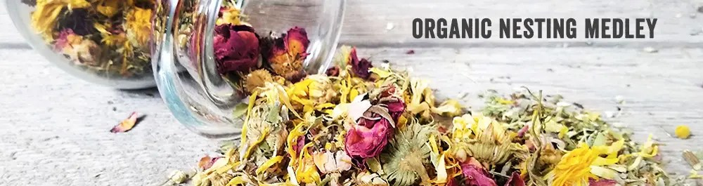 Organic Nesting Medley for Chickens