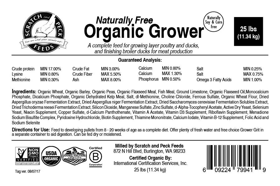 Naturally Free Organic Grower