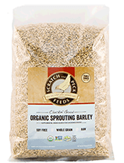 Scratch and Peck Feeds Organic Sprouting Grains