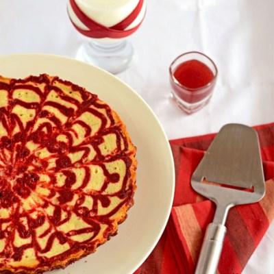 Classic Red Velvet Cheesecake Swirl Brownie