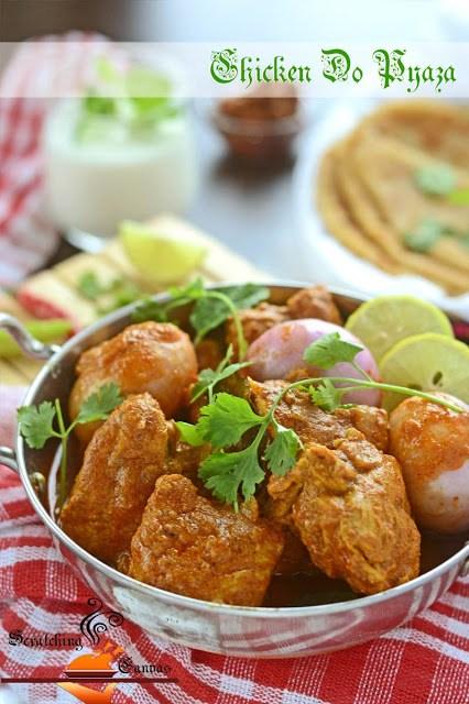 Chicken Do Pyaaza