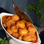Kashmiri Dum Aloo Recipe Food Photography
