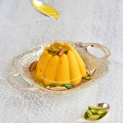 Ice cream Sandesh | Bhapa Sandesh | Kesar Pista Kulfi Malai Sandesh