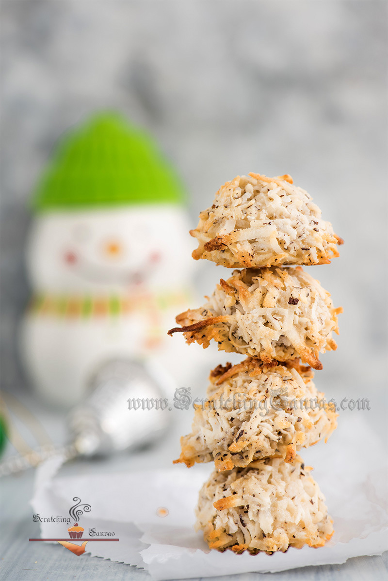 Coconut Macaroon Still life Photography Styling