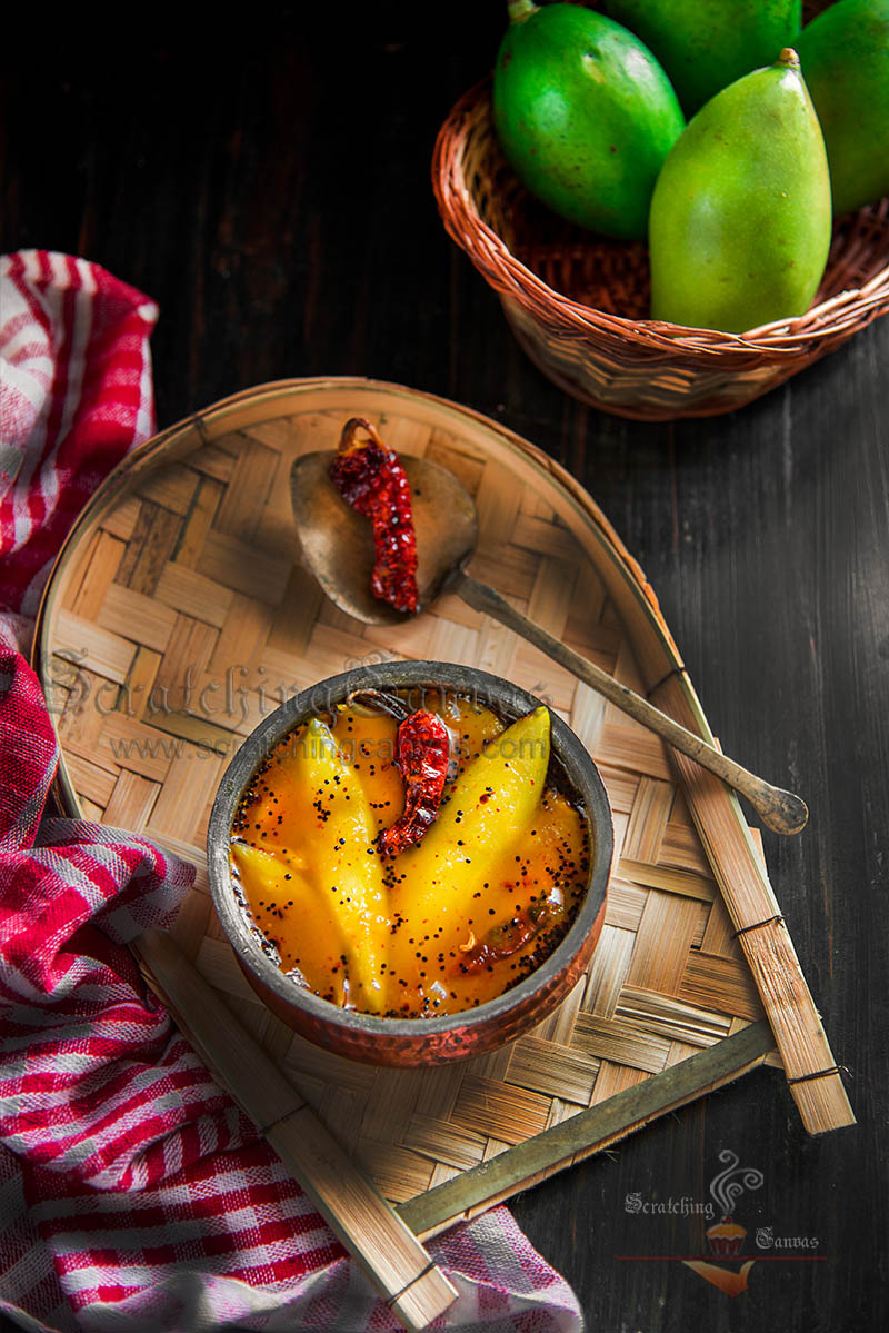 Mango Chutney Food Photography Styling