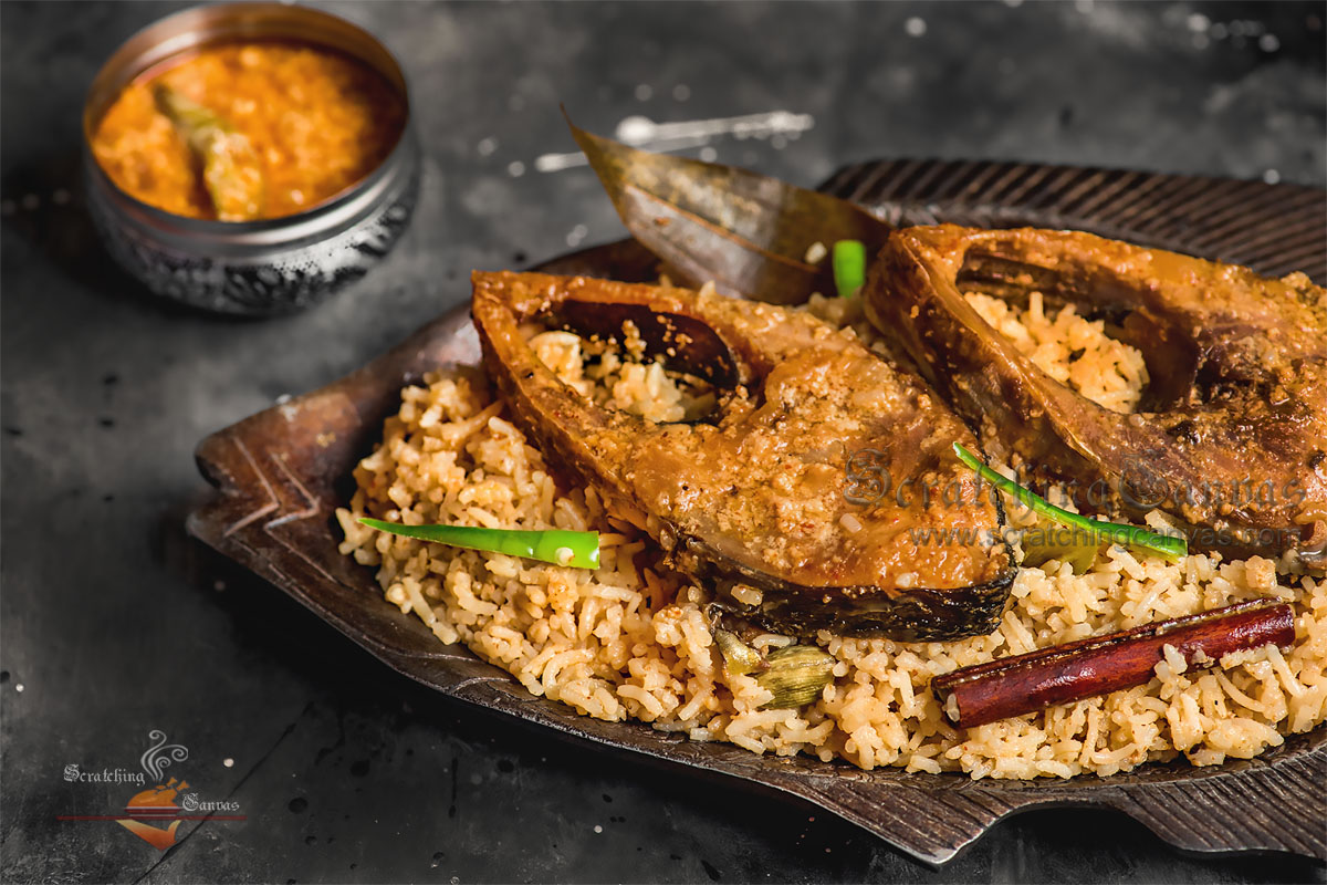 Ilish Polao Food Styling Photography