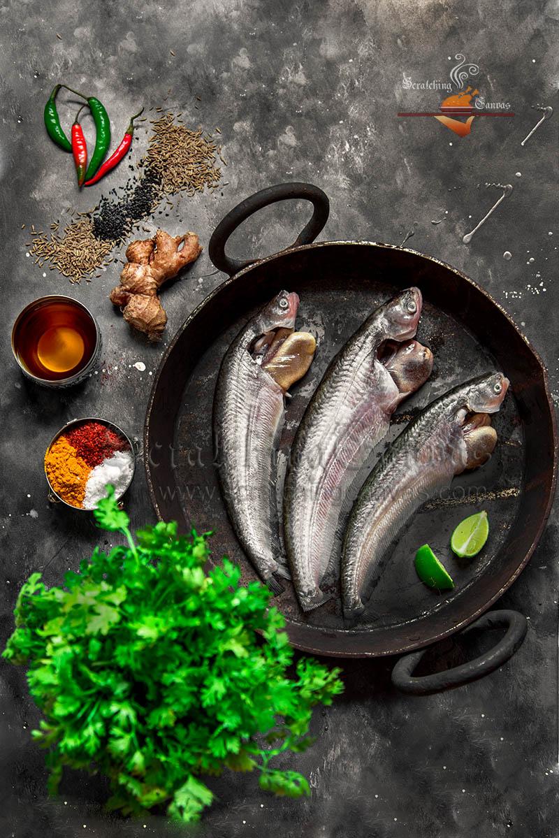 Bengali Fish Styling Photography