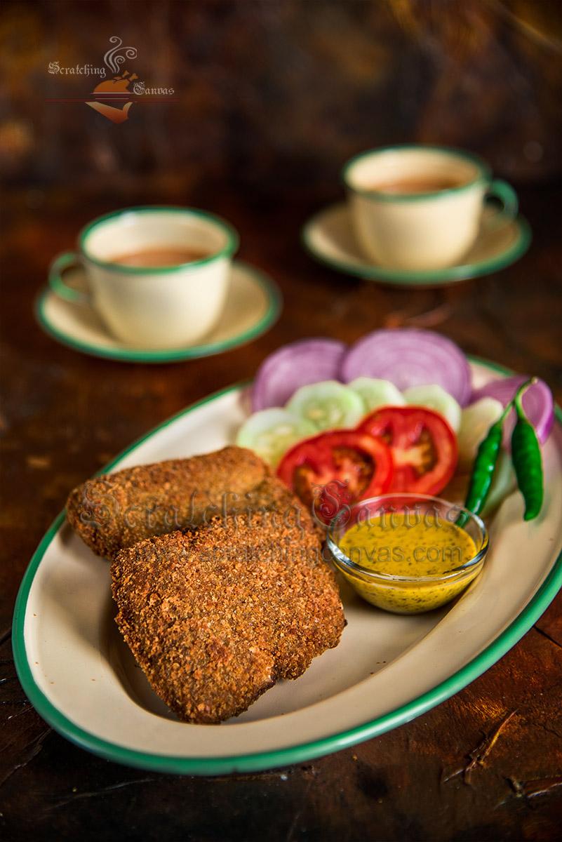 Bengali Fish Fry Food Photography Styling