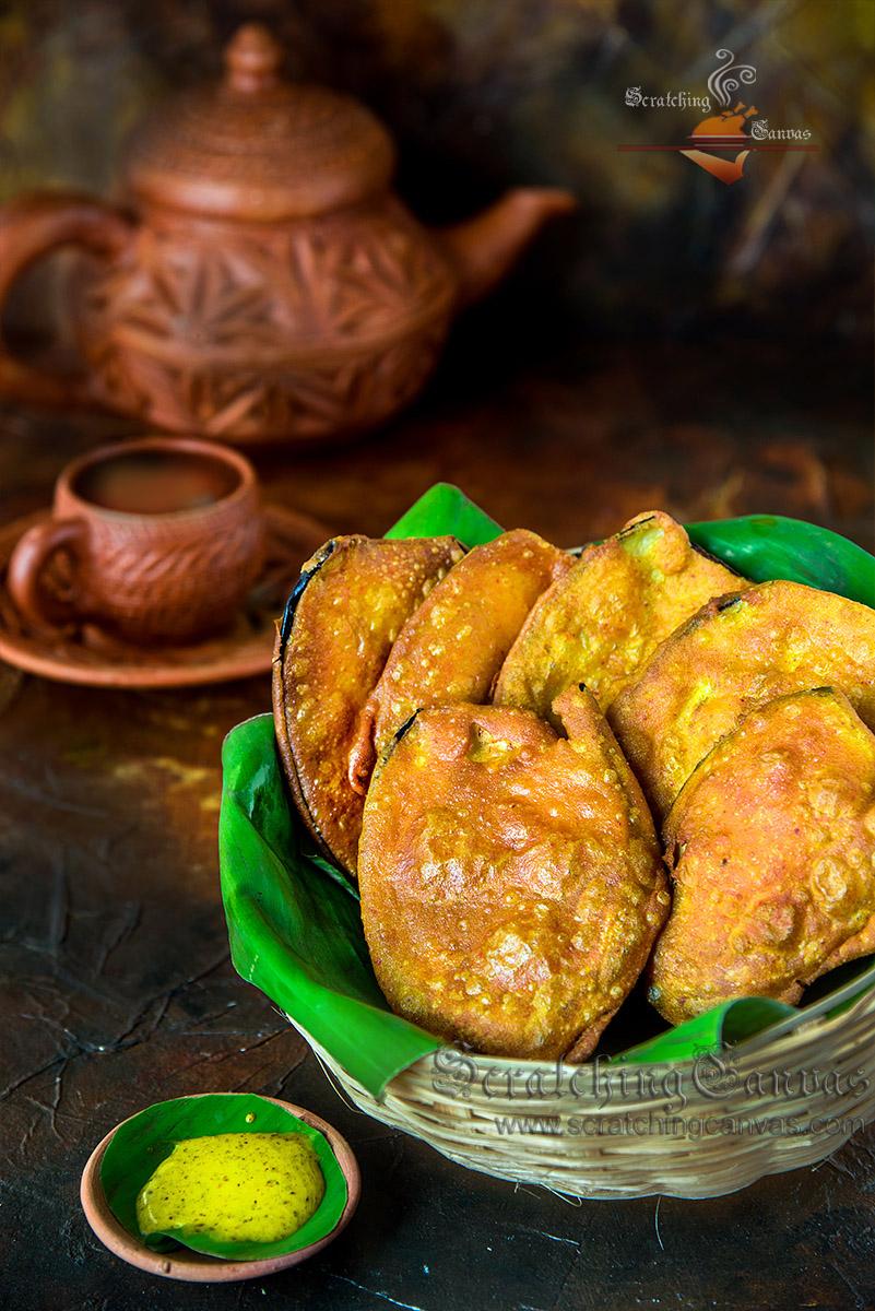 Bengali Telebhaja Recipe Video