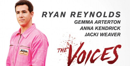 Ryan Reynolds stars as a serial killer in Michael R Perry-written film The Voices