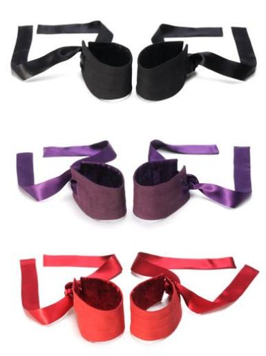 Win a set of Etherea silk cuffs by LELO in your choice of color