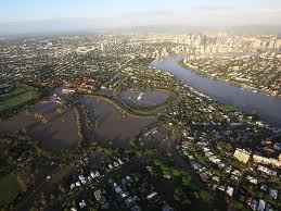 brisbane river flooded