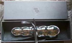 the pearl dildo in its box