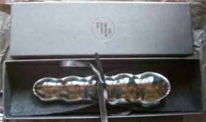 the pearl dildo in its box