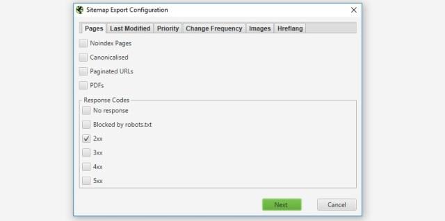 Halaman untuk disertakan dalam Peta Situs XML
