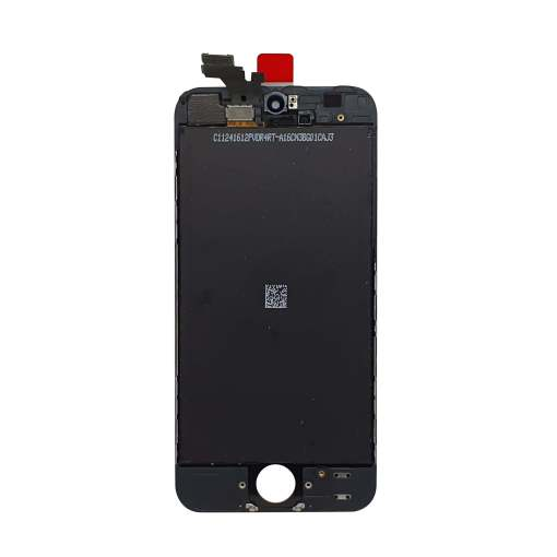 Rear facing iPhone 5 display in black