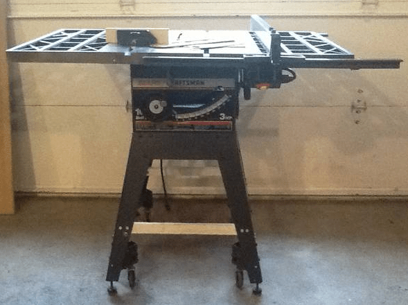 Craftsman Contractor Series 10 3hp Table Saw