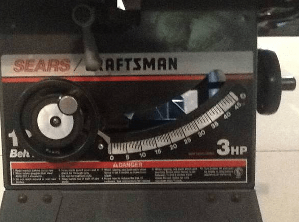 Sears Craftsman Table Saw Model 113
