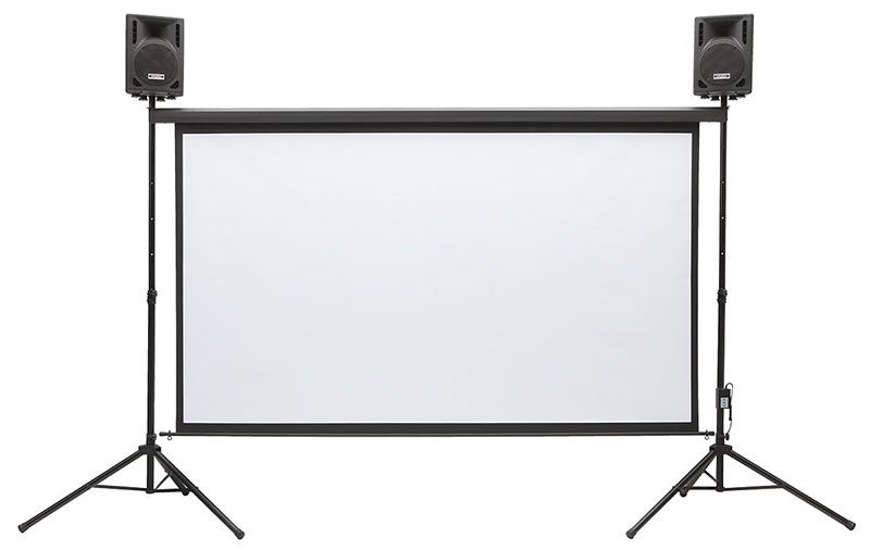 Backyard Theater System 9-foot Outdoor Entertainment System Review