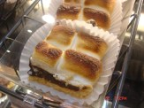 Toasted S'Mores in a bakery case
