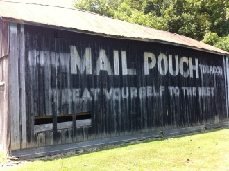 Old Advertising on the Side of a Barn