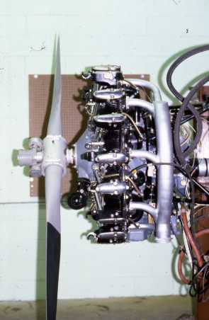 Radial Airplane Engine